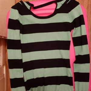 Size small striped sweater, Wet Seal